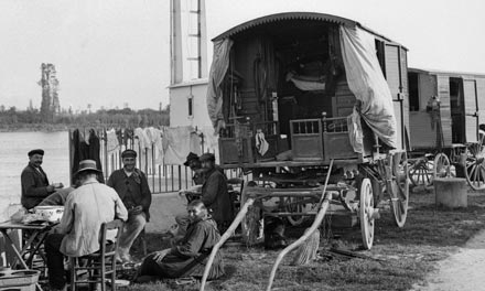Gipsy coach in the 1920's
