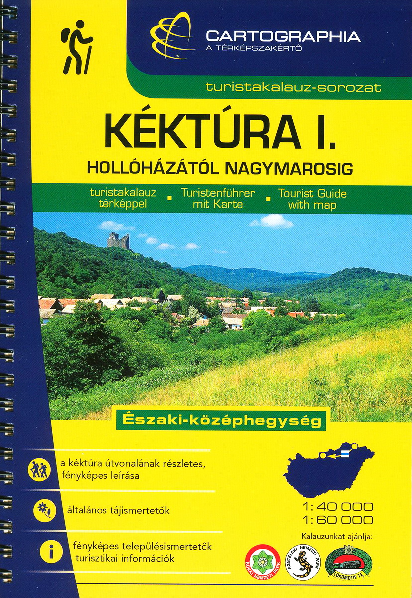 The first volume of Tourist Guide of the National Blue Trail