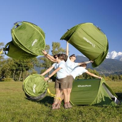 Quechua másodperces sátor felállítása