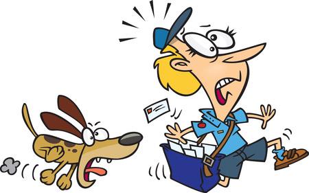 Itt csak a postás az áldozat...