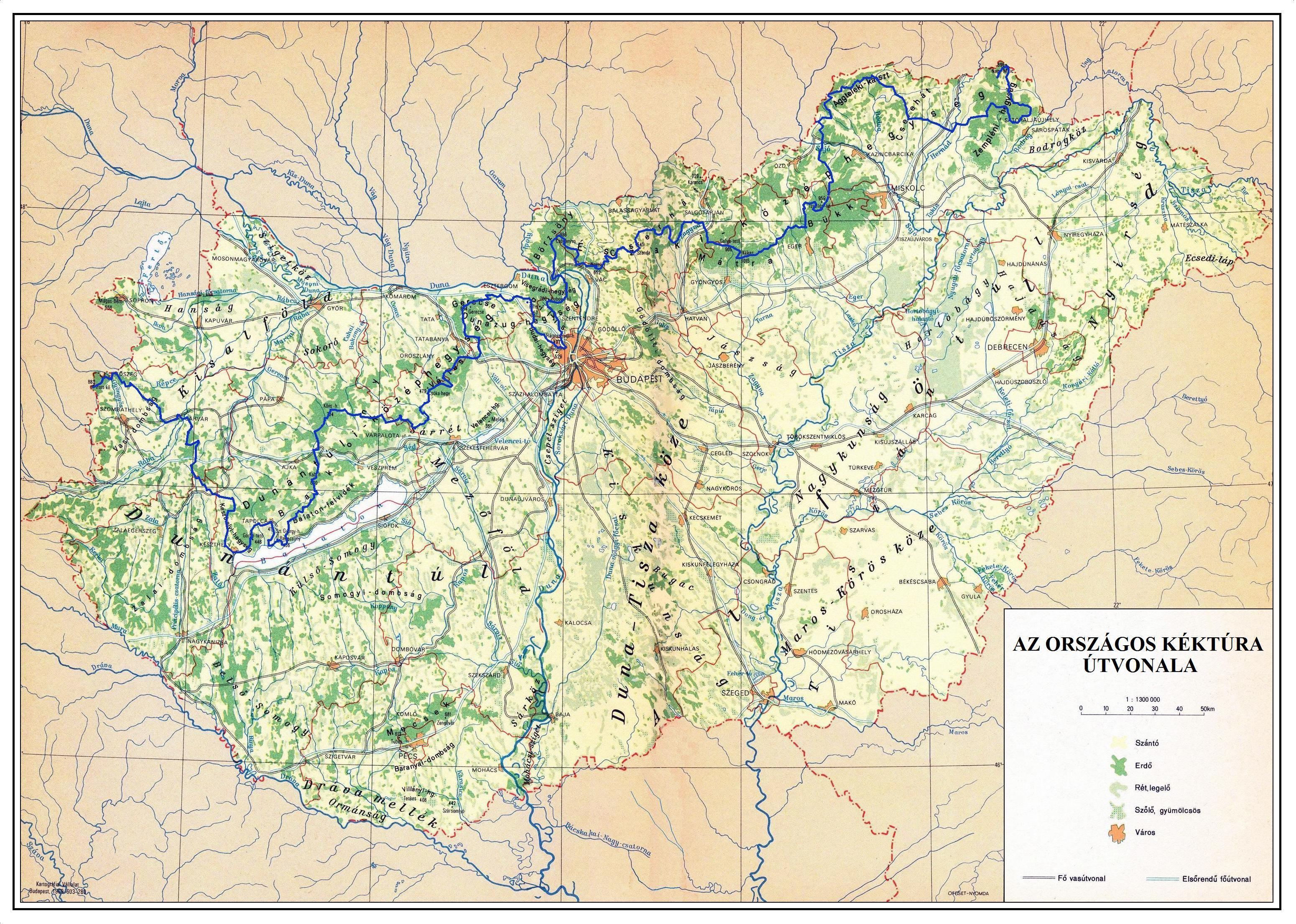 kéktúra térkép KÉKTÚRA HONLAP   Az Országos Kéktúra, a Dél dunántúli Kéktúra és  kéktúra térkép