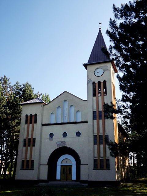 Kéleshalom római katolikus temploma