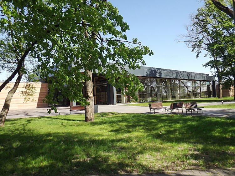 Ópusztaszer - A látogatóközpont