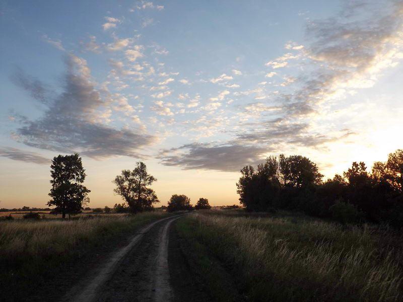 Égkép még napkelte előtt