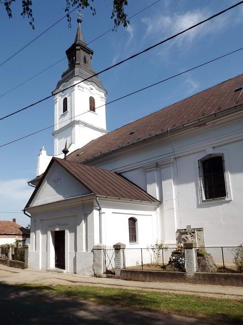 Körösnagyharsány református temploma