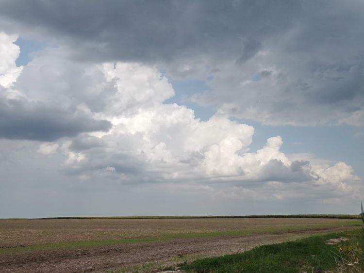 Délutánra kissé befelhősödött az ég