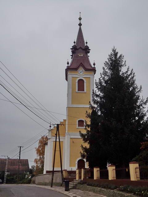 Cigánd - A református templom díszes toronysipkája