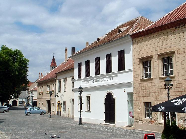 Old houses on the Jurisics Square