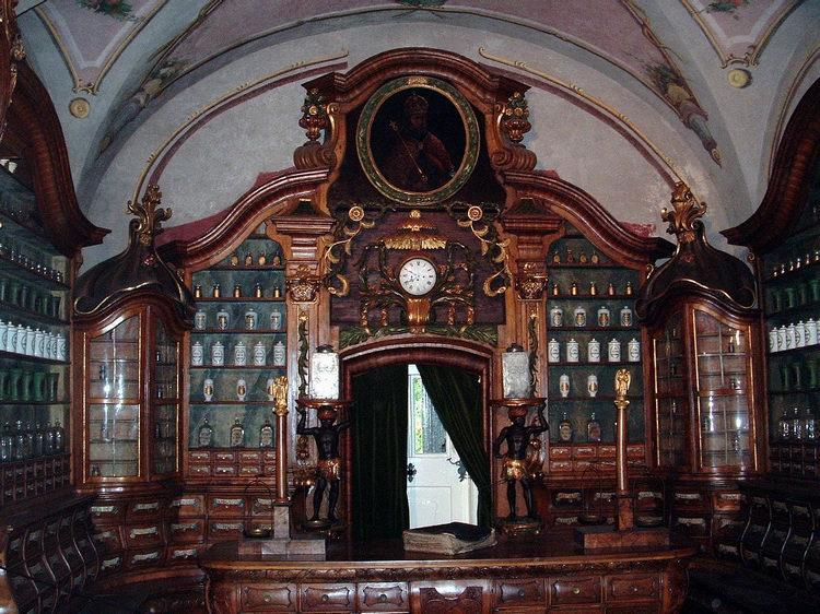 The Arany Egyszarvú Pharmacy Museum in Kőszeg