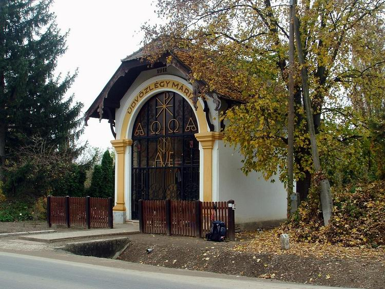 Small chapel beside the main road