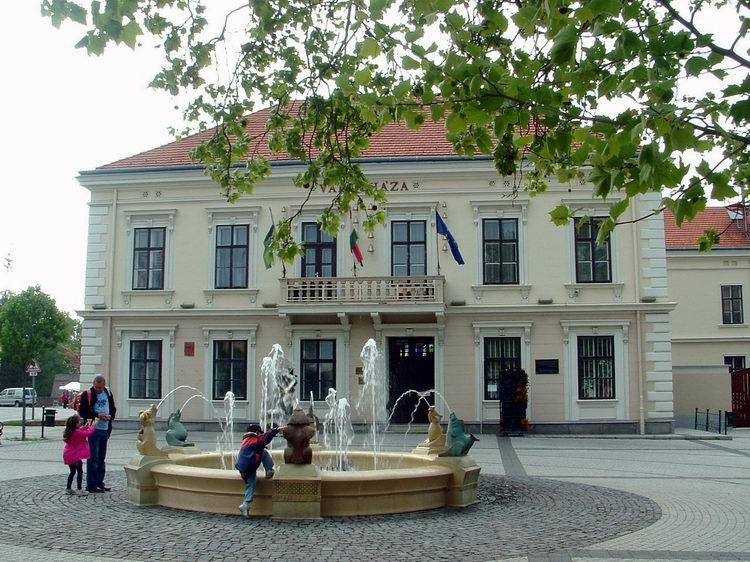 The City Hall of Sárvár