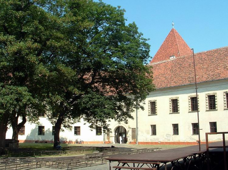 The Nádasdy Castle in Sárvár