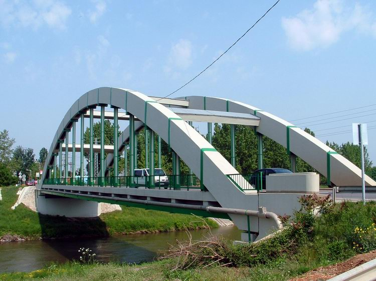 Bridge over the Rába River