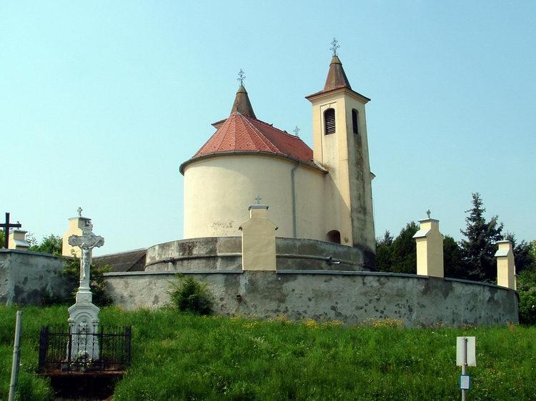 The Catholic church of Hegyközség