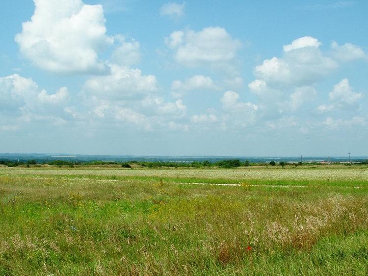A last glance towards the plain of the Kisalföld