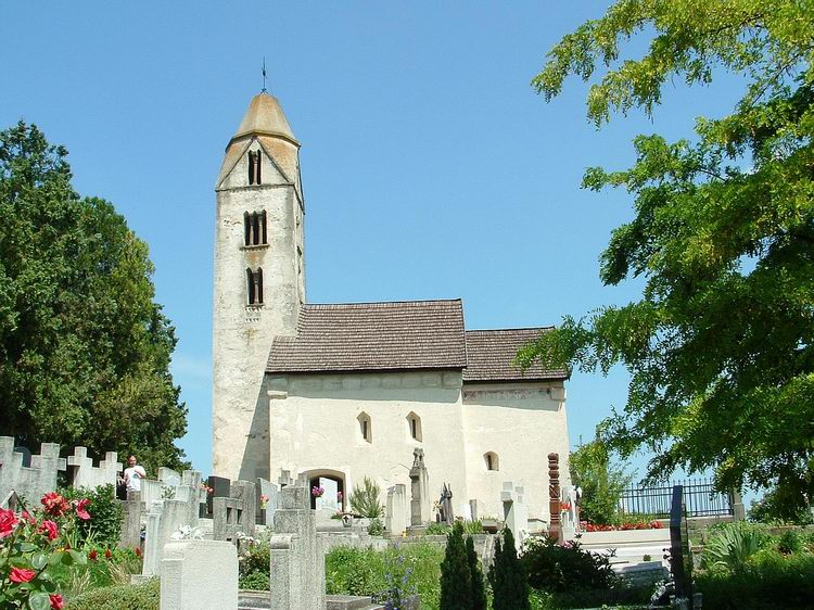 The Romanesque church of the former Egregy village