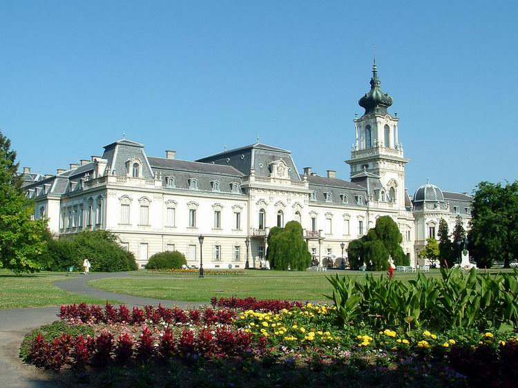 The Festetics palace in Keszthely