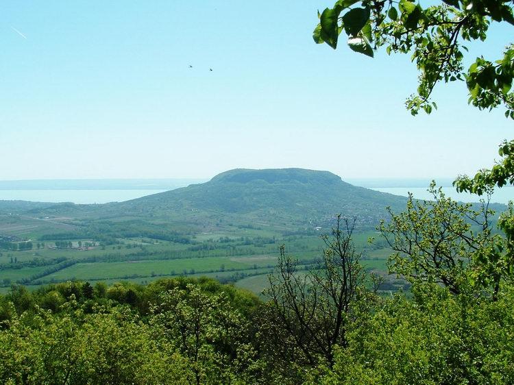 The Badacsony taken from the Szent György-hegy