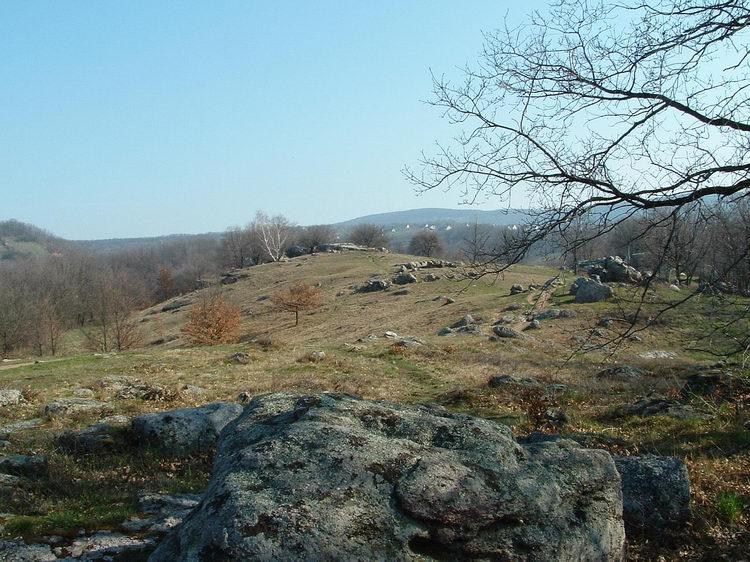 The rocks of Kőtenger