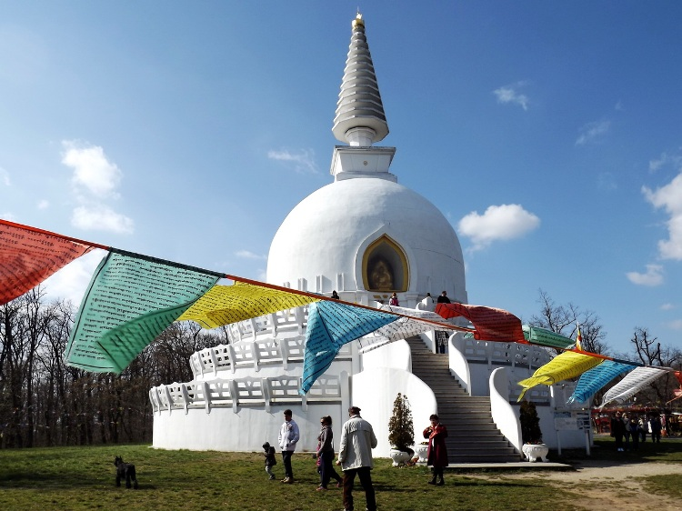 This is the largest stupa in Europe