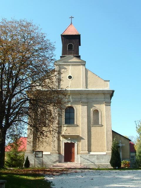 The pilgrimage church of Péliföldszentkereszt