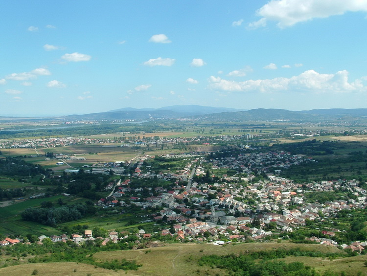 Panorama from the peak of Hegyes-kő Hill