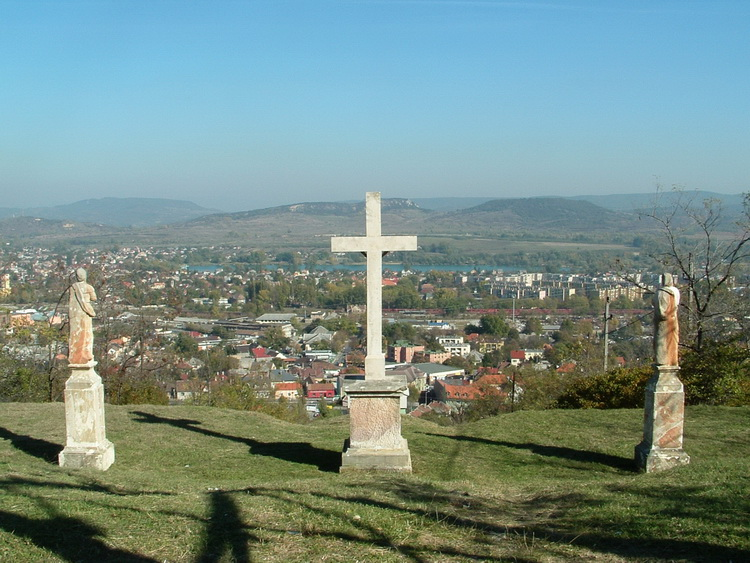The view of Dorog from the Calvary Hill