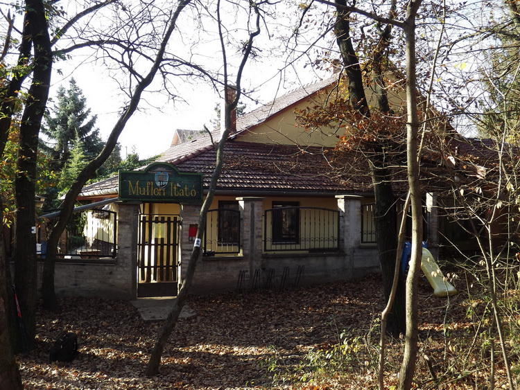 Muflon Itató - Pub, restaurant and stamping place in the forest