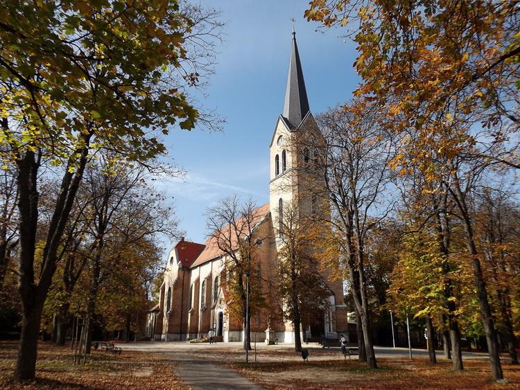 The pilgrimage church of Máriaremete