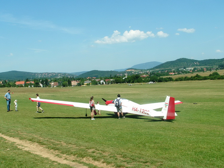 On the field of the gliders