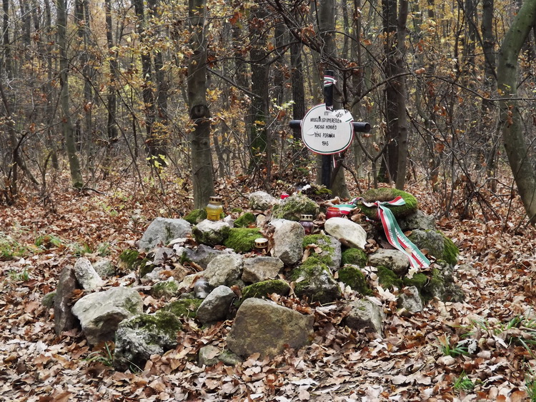 The grave of an unknown Hungarian soldier