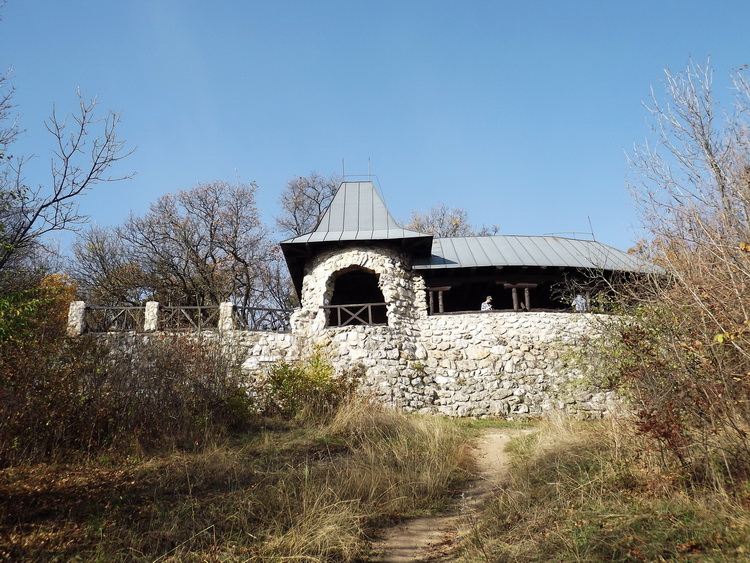 The Árpád Lookout Terrace