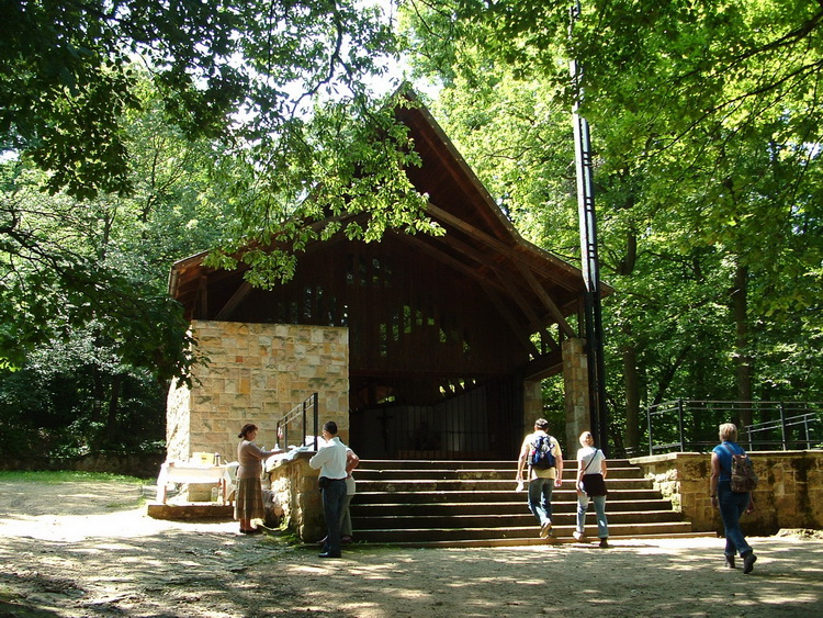 The chapel of the Szent-kút