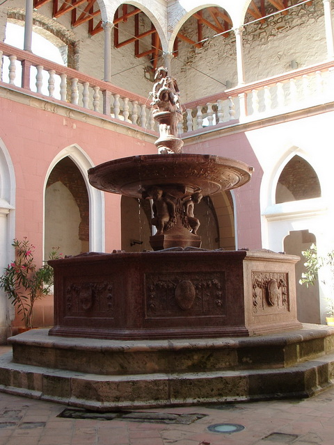 The medieval palast of Matthias King