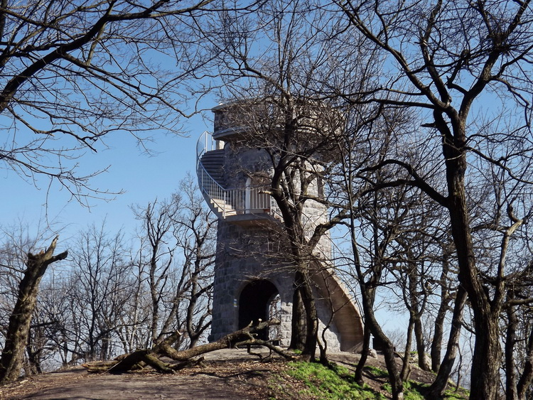 Lookout tower on the top of Hegyes-tető