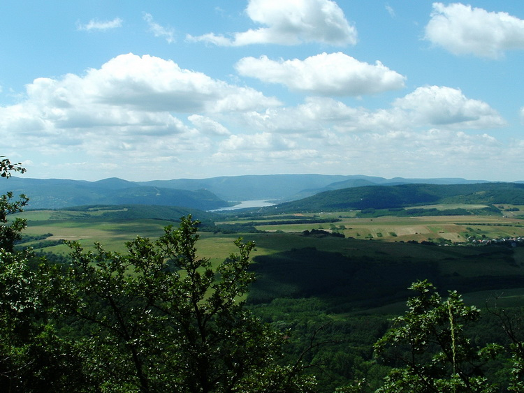 Panorama from the lookout point of Nagy-Kő-hegy