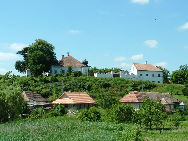 The Jánossy mansion in Cserhátsurány village