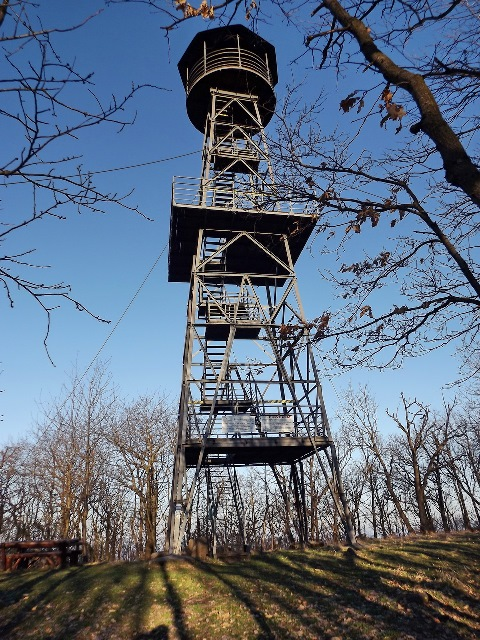 The lookout tower of Tepke Mountain