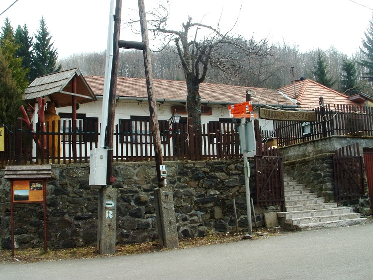 The Vidróczki Csárda Restaurant stands in Mátraszentistván