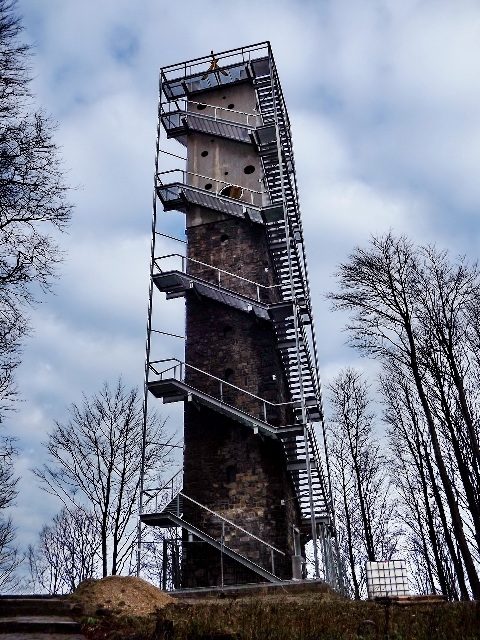 The old lookout tower of Galyatető have got two new floors