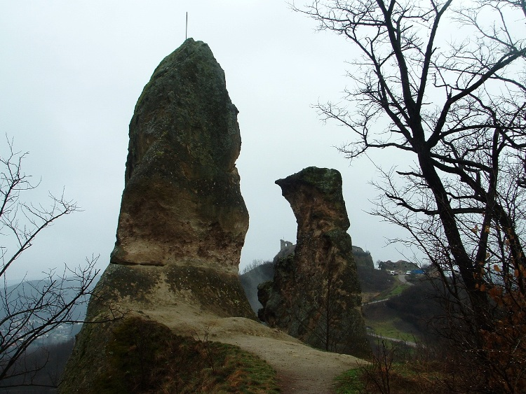 The Nun and Monk Rocks