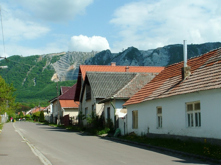 Bélapátfalva village lies at the foot of Bél-kő