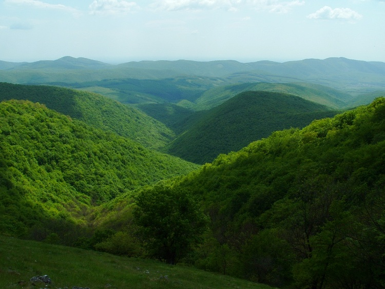 View from the side of Cserepes-kő