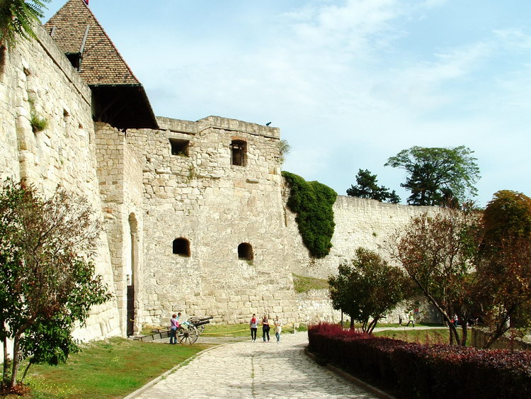 The medieval fortress of Eger