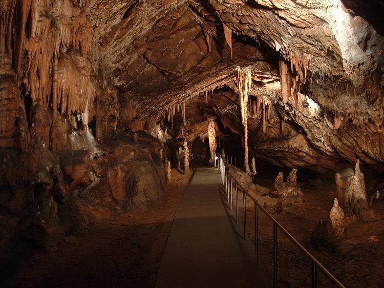 Visit in the World Heritage Site Baradla cave system 4.