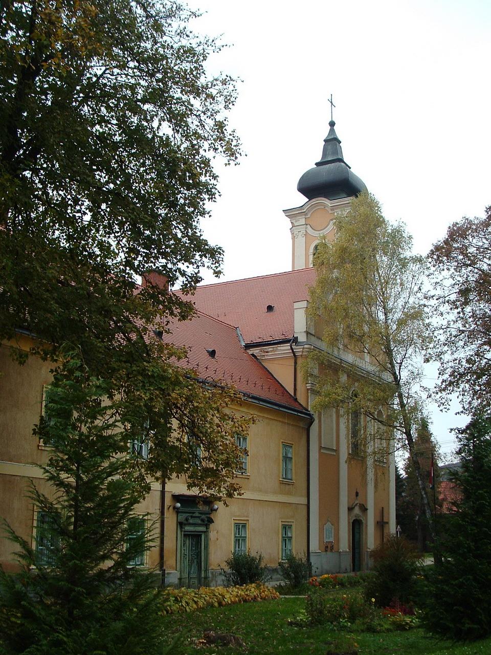 The church and monastery of Bakonybél