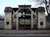 Dorog - A futballpálya kovácsoltvas kapuja