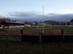 Dorog - A futballpálya a kovácsoltvas kapun keresztül nézve