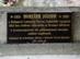Piliscsaba - A síron lévő emléktábla közelről