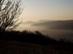 Nagy-szénás - Ködös kilátás a budai hegyekre